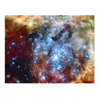 30 cúmulos de estrellas de la nebulosa de Doradus Tarjeta Postal