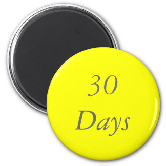 30 Day Chip Magnet