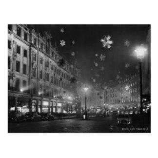 30 de noviembre de 1955: Decoraciones del navidad Postales