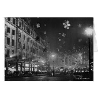 30 de noviembre de 1955: Decoraciones del navidad Tarjeta De Felicitación