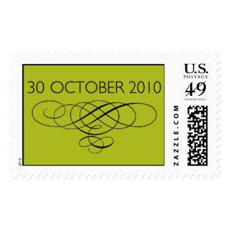 30 de octubre de 2010 sello