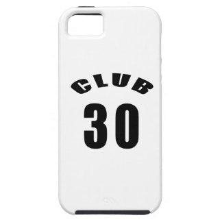30 diseños del cumpleaños del club iPhone 5 carcasa