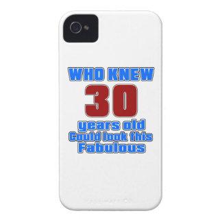 30 diseños del cumpleaños Case-Mate iPhone 4 cárcasas