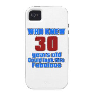 30 diseños del cumpleaños vibe iPhone 4 fundas