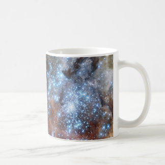 30 Doradus in Ultraviolet, Visible, and Red Light. Coffee Mug