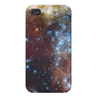 30 Doradus in Ultraviolet, Visible, and Red Light. iPhone 4/4S Covers