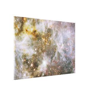 30 Doradus Nebula in Infrared Light Canvas Print