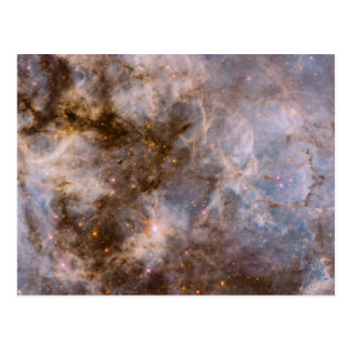 30 Doradus Nebula in Visible Light Postcard