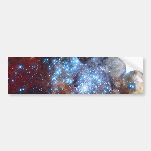 30 Doradus Nebula Star Clusters Bumper Sticker