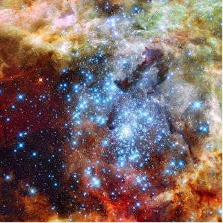 30 Doradus Nebula Star Clusters Statuette
