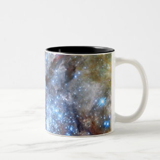 30 Doradus Nebula Star Clusters Two-Tone Coffee Mug