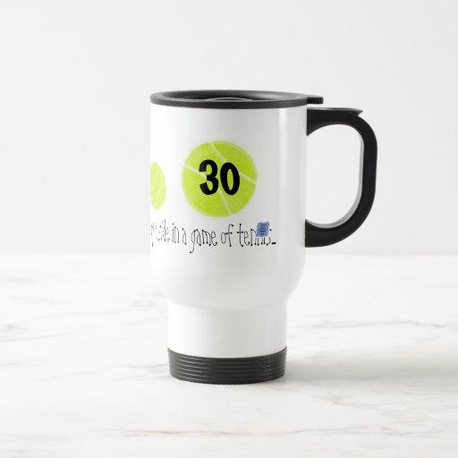 30… es apenas el segundo punto… por tenis del lago taza térmica