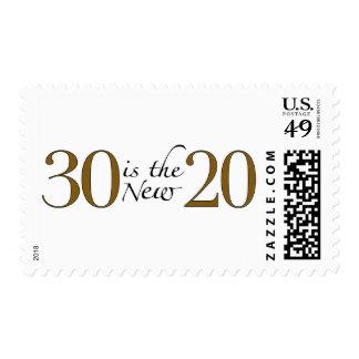 30 es los nuevos 20 sello