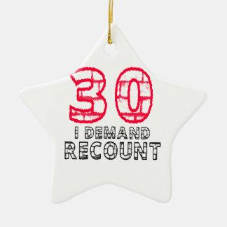 30 exijo diseños del cumpleaños del recuento