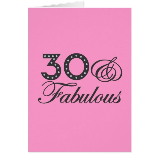 30 & Fabulous Gift Cards