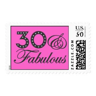 30 & Fabulous Postage