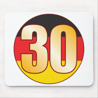 30 GERMANY Gold Mouse Pad