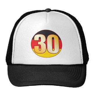 30 GERMANY Gold Trucker Hat