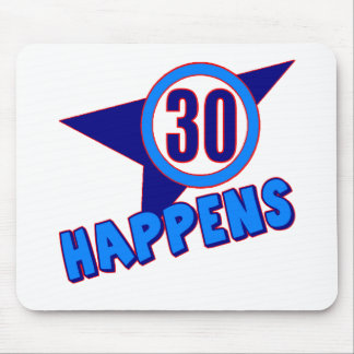 30 Happens 30th Birthday Gifts Mouse Pad