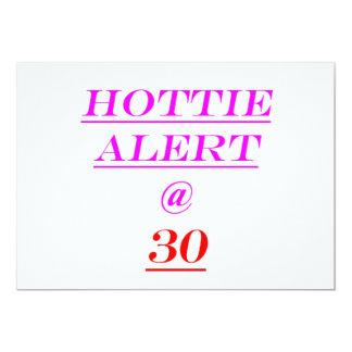 30 Hottie Alert Card
