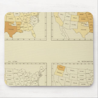 30 Interstate migration 1890 TXWV Mouse Pad