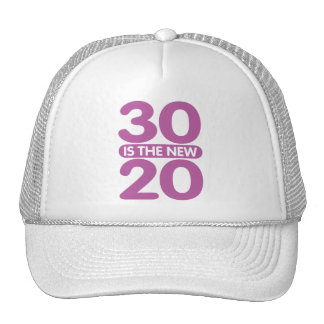 30 is the new 20 mesh hats
