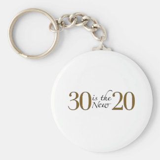 30 is the new 20 keychain
