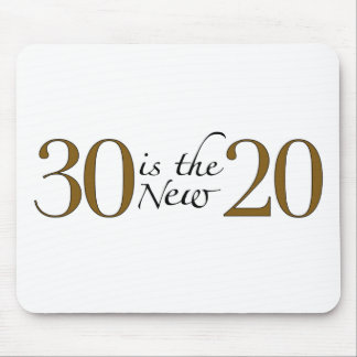 30 is the new 20 mouse pad