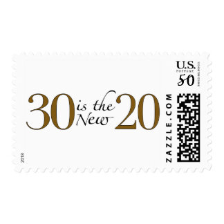 30 is the new 20 postage