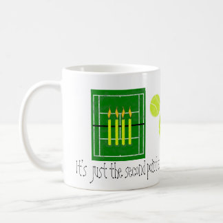30...It's just the second point...by Lake Tennis Mug