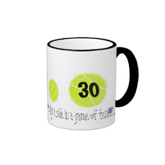 30...It's just the second point...by Lake Tennis Mugs