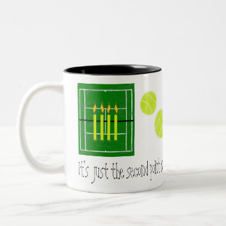 30...It's just the second point...by Lake Tennis Two-Tone Coffee Mug