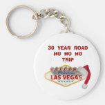 30 llavero de Las Vegas del VIAJE del AÑO ROADHO H