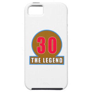 30 los diseños del cumpleaños de la leyenda iPhone 5 fundas