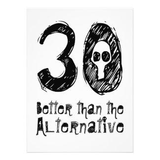 30 mejor que el trigésimo cumpleaños divertido Q30 Comunicado