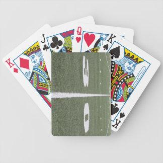 30 naipes de la línea de yardas barajas de cartas