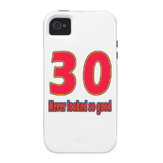 30 never looked so good birthday designs iPhone 4/4S case