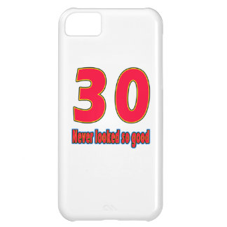 30 never looked so good birthday designs iPhone 5C case