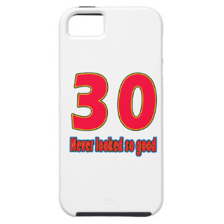30 never looked so good birthday designs iPhone 5 cover