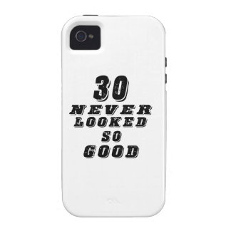 30 never looked so good vibe iPhone 4 cases