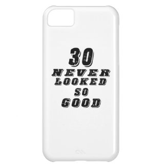 30 never looked so good cover for iPhone 5C
