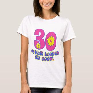 ¡30 nunca parecido tan bueno! playera