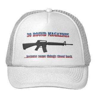 30 revistas redondas - 2da enmienda gorra