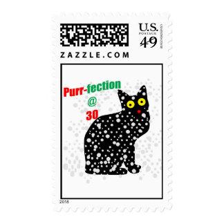 30 Snow Cat Purr-fection Stamps