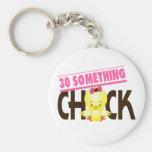 30-Something Chick 1 Keychain