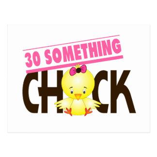 30-Something Chick 1 Postcard