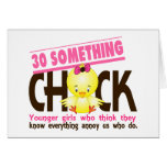 30-Something Chick 3 Card