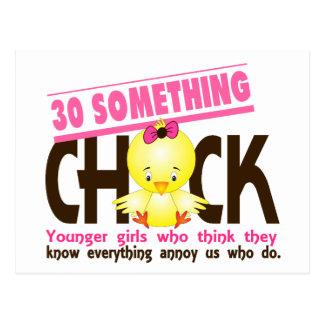 30-Something Chick 3 Postcard