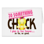 30-Something Chick 5 Card
