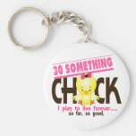 30-Something Chick 5 Key Chains